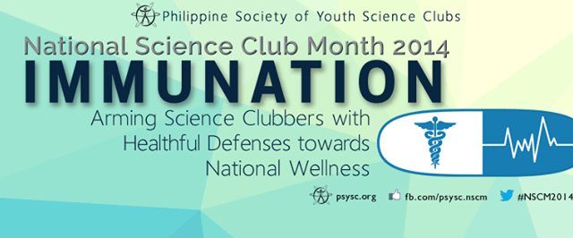 """National Science Club Month 2014 theme – """"Immunation"""""""