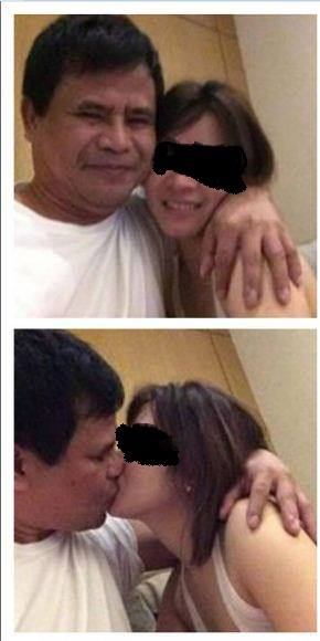 Alleged photos of Governor Edgardo Tallado and his mistress surface online