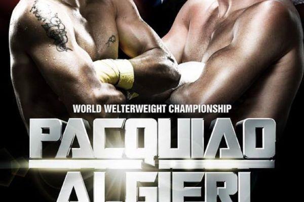 Pacquiao Algieri live fight
