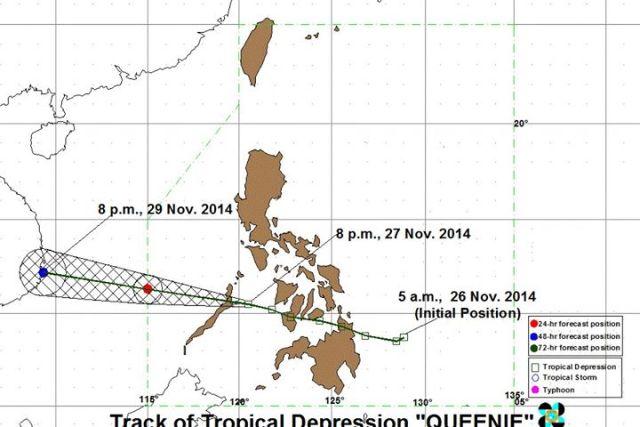 Class suspensions for November 28 2014 – Tropical depression 'Queenie' update