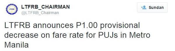 minimum fare in metro manila P7.50