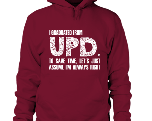 """UP Diliman community not happy with """"arrogant"""" statement hoodies"""
