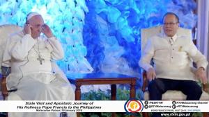 pnoy malacanang pope francis