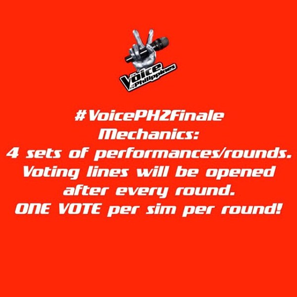 #VoicePH2Finale   The Voice Philippines Finals – live updates and commentary