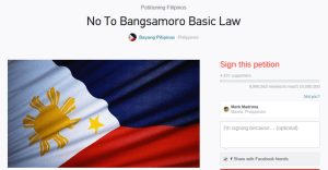 no to bangsamoro basic law