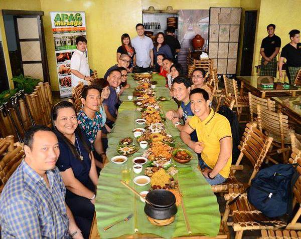 APAG MARANGLE: Serving Kapampangan cuisine in the Metro