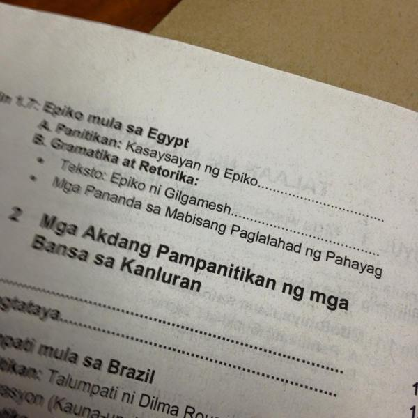 Filipino textbook says Harry Potter came from US – How did THAT get published?