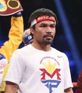 manny pacquiao suspended