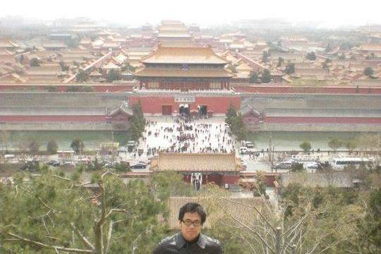 The author during one of his visit to China last 2011