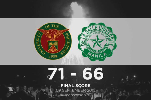 UP defeats DLSU