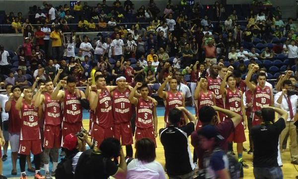 UP fighting maroons defeat DLSU
