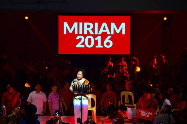 Asking about Miriam Santiago's medical history is fair game