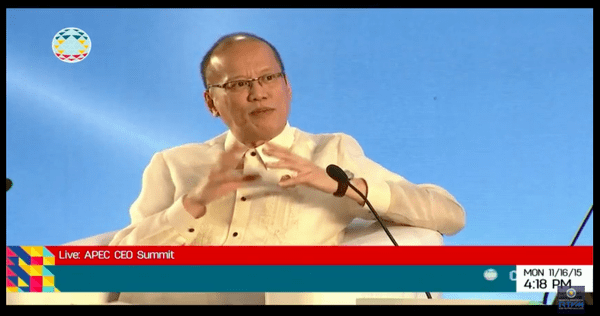 noynoy aquino APEC summit