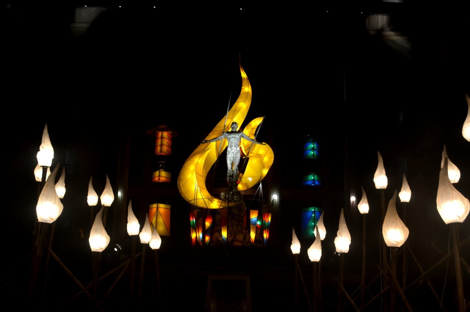 UP diliman christmas lights