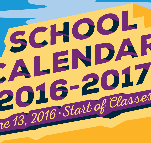 DepEd releases calendar for school year 2016-2017