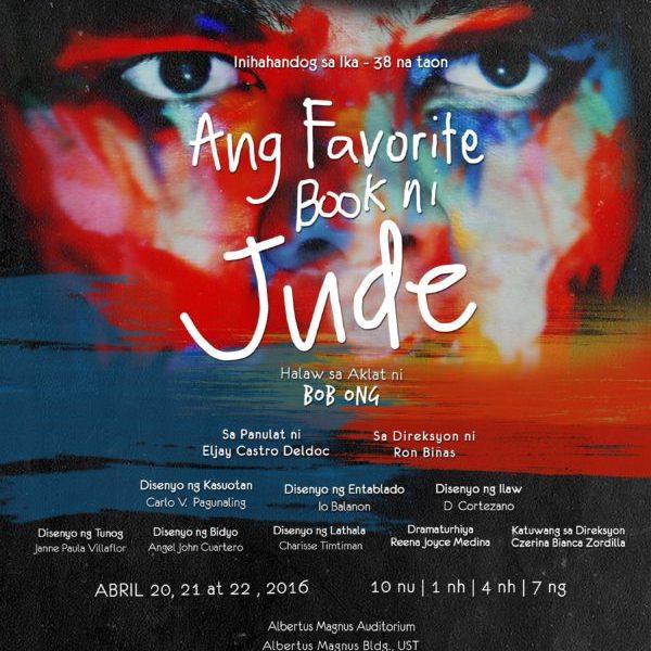 Teatro Tomasino presents 'Ang Favorite Book ni Jude'