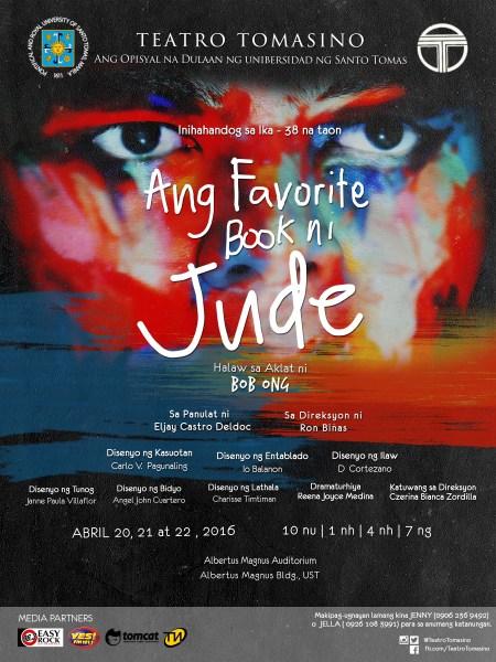Teatro Tomasino - Ang Favorite Book ni Jude