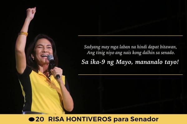 risa hontiveros for senator