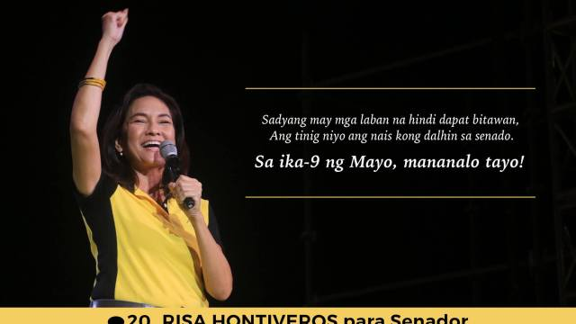 risa hontiveros for senator