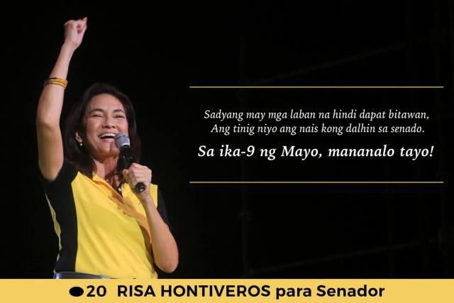The Filipino Scribe's 2016 senatorial endorsements
