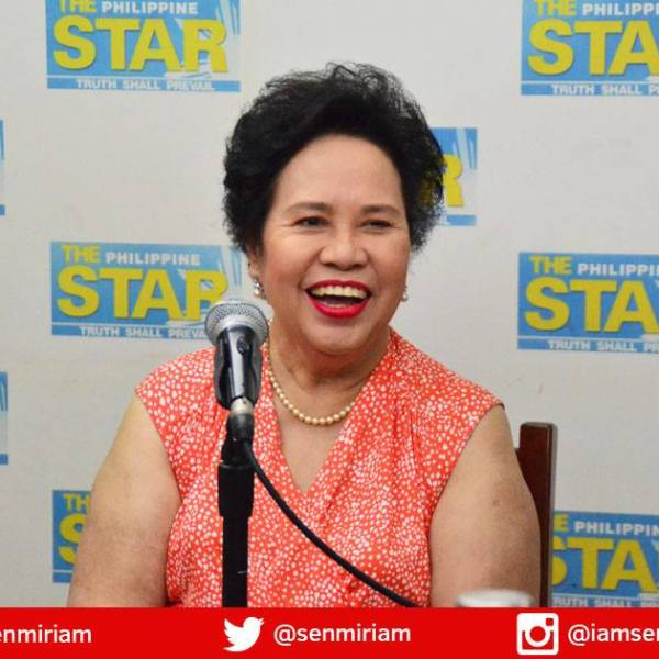 Miriam slams rivals for neglecting reproductive health, other human rights issues