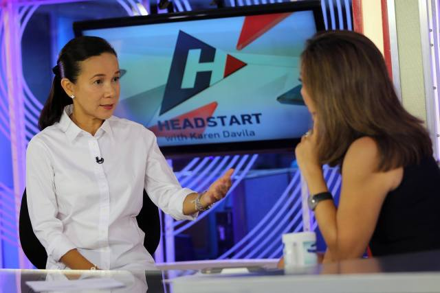#AYAWsaDILAW | Poe rejects Roxas offer for an alliance vs Duterte