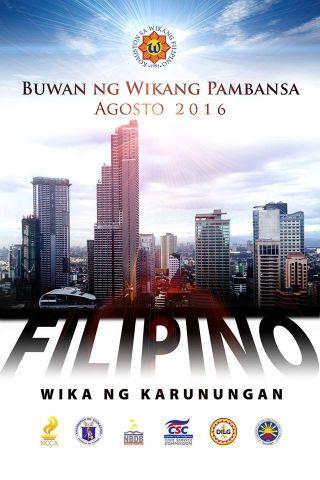 National Language Month, Buwan ng Wika, Tagalog, Education