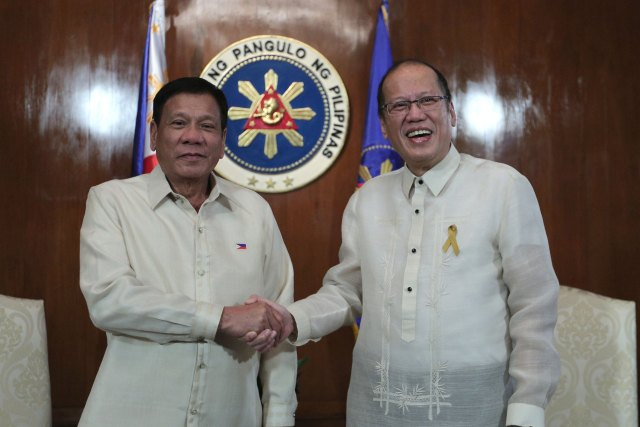 Former President Aquino deserves credit for the Philippines' win over China