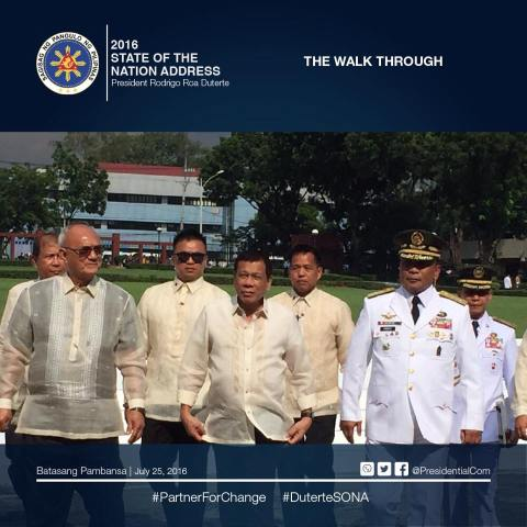 duterte 2016 state of the nation address