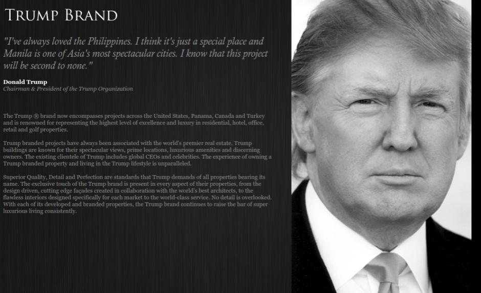 donald trump on the philippines