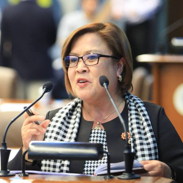 De Lima blames Duterte for her ouster as Senate justice committee chair