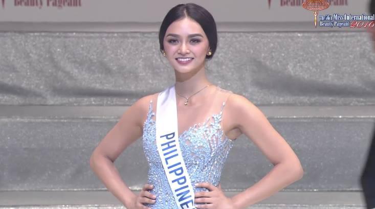Philippines' Kylie Versoza Wins Miss International 2016