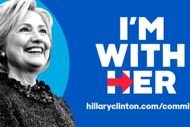 Thank you very much, Hillary Clinton