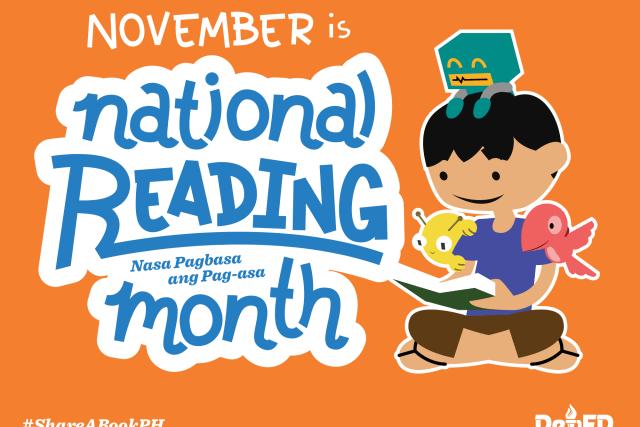 BUWAN NG PAGBASA – National Reading Month 2016 official theme