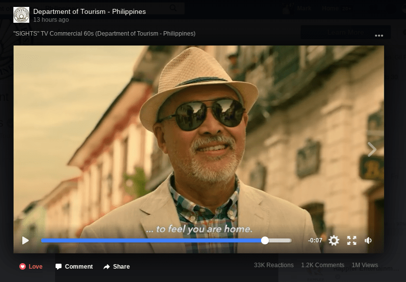philippine tourism advertisement 2017