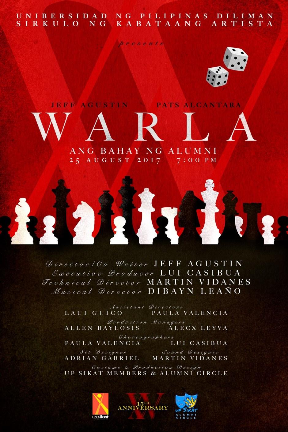 UP SIKAT presents WARLA