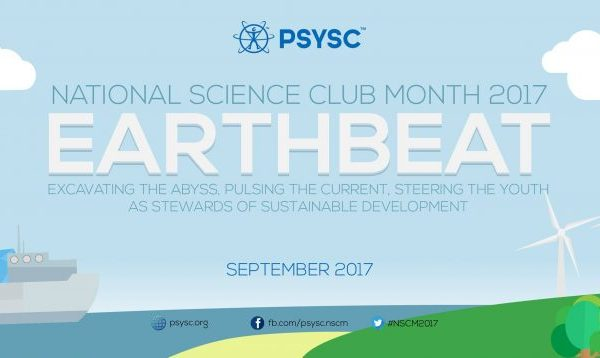 """National Science Club Month 2017 theme – """"EARTHBEAT"""""""