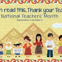"National Teachers Month theme 2017 - ""Gurong Pilipino: Kaakbay sa Progreso"""