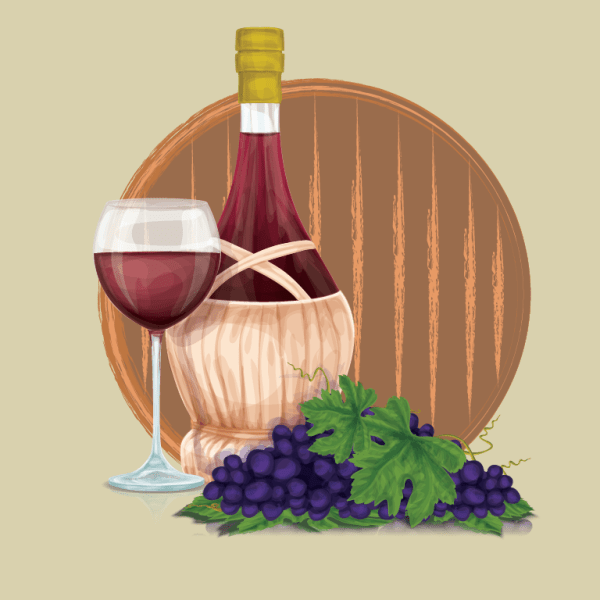 The origin and history of wine