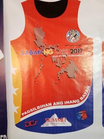 laban ng lahi 2017 qualifying tournament
