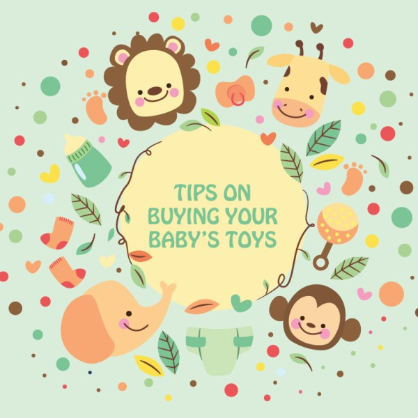 Four Tips on Buying Your Baby's Toys