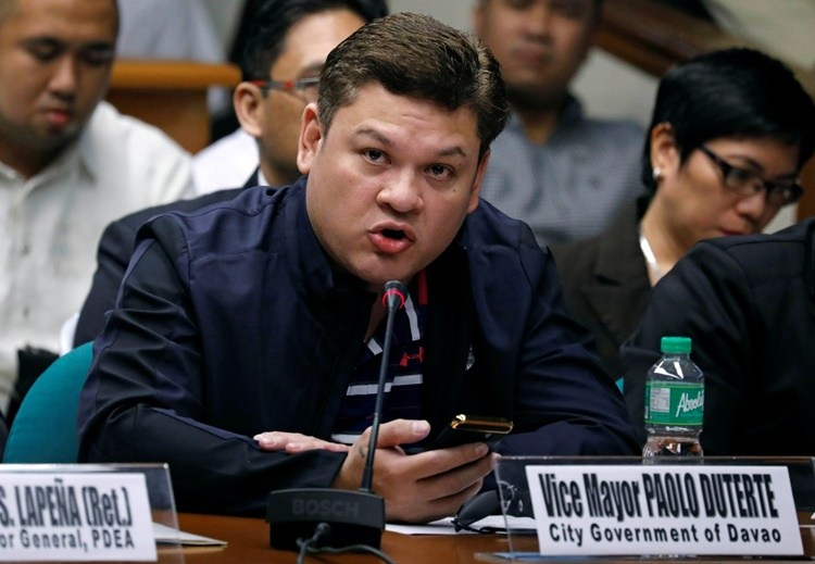 paolo duterte resigns vice mayor