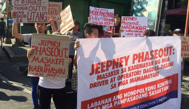 PISTON jeepney strike march 2018