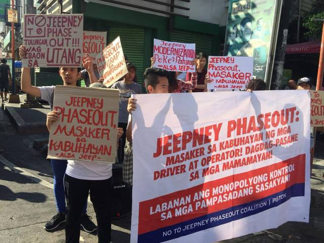 PISTON jeepney strike march 2018