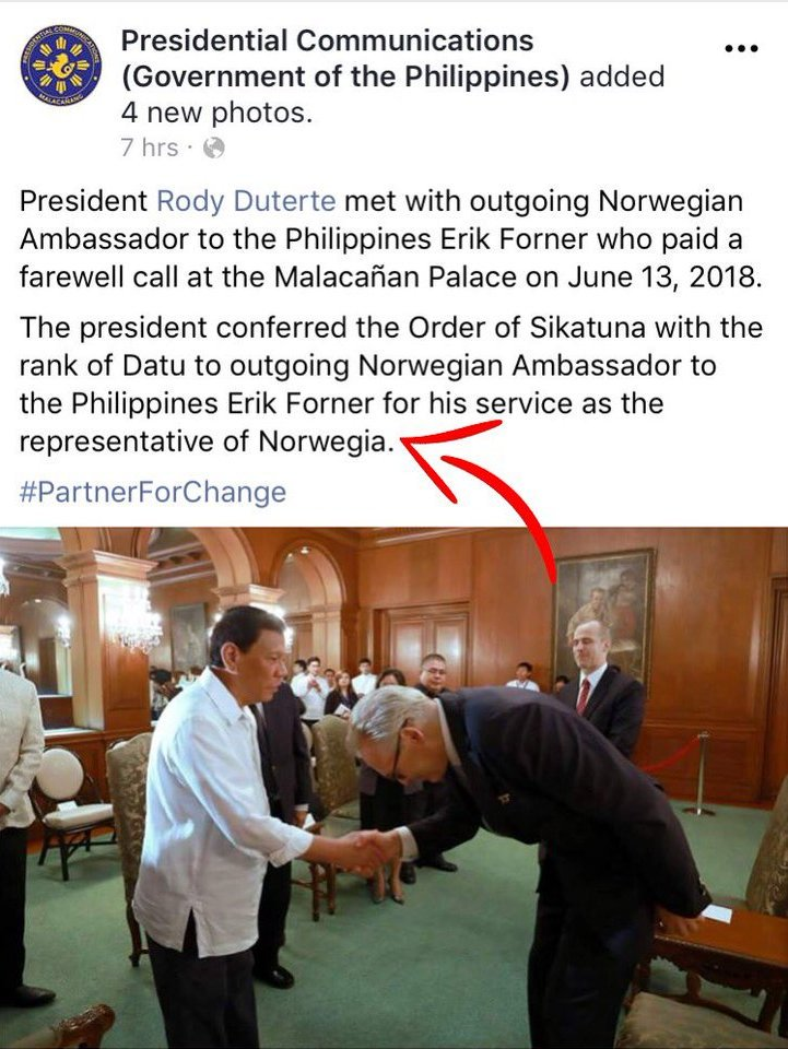 NORWEGIA - Pinoy netizens cringe as PCOO commits yet another boo-boo