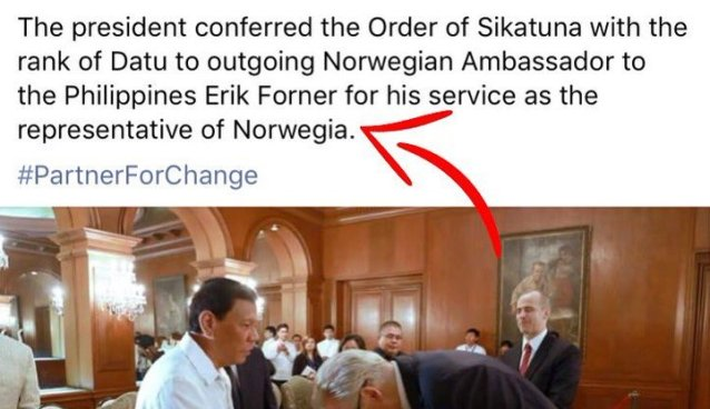 norwegia PCOO