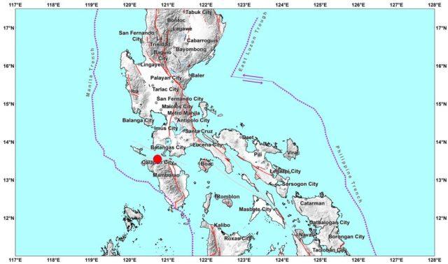 May 2021 Luzon earthquake