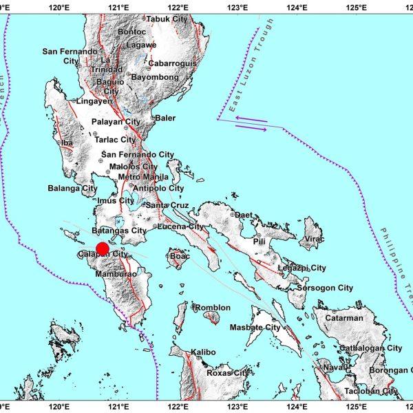 AFTERSHOCKS EXPECTED: Magnitude 5.8 quake hits Occidental Mindoro, Metro Manila, parts of Luzon