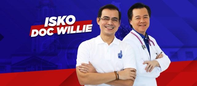 Isko Moreno - Willie Ong 2022