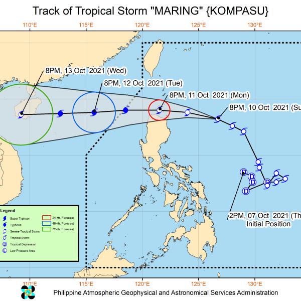 #WalangPasok – Class suspensions for October 11 2021 due to tropical storm 'Maring'